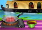 لعبة طبخ سمك السلمون الترياكي