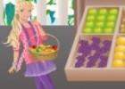 العاب باربي بائعة الفواكه والخضار