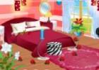 العاب باربي ترتيب ديكور غرفة النوم