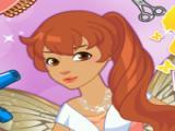 العاب قص شعر الفراشة الحلوة