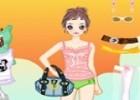 لعبة الملابس و الحقائب