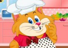 لعبة تلبيس القط الطباخ