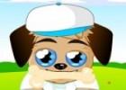 لعبة تلبيس الكلب الحزين