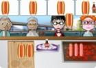 لعبة مطعم الهوت دوج