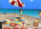 لعبة طبخ الفطائر على الشاطئ