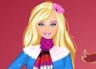 لعبة تلبيس ملابس باربي الشتوية