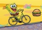 العاب دراجة سبونج بوب الهوائية