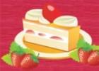 لعبة طبخ كيكة الفراولة