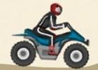 لعبة الدراجات النارية على الرمال