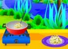 لعبة طبخ الارز بالفطر