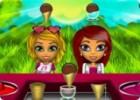 لعبة مطعم ايسكريم البنات والحيوانات