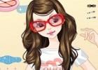 العاب مكياج عاشقة النظارات