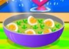 لعبة طبخ البيض المسلوق