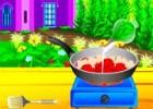 لعبة طبخ دجاج تكا الهندي