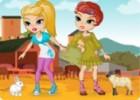 لعبة تلبيس بنات في الحظيرة