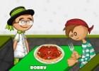لعبة مطعم مكرونة باباس