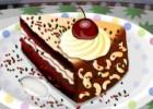 لعبة تزيين الكيكة البنية