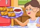 لعبة طبخ لفائف سمك السلمون