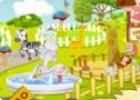 العاب تنظيف حديقة الحيوانات