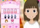 لعبة بنات تلبيس ومكياج وقص شعر