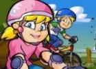 لعبة دراجات هوائية تحدي
