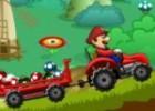 العاب شاحنة مزرعة الفطر مع ماريو