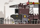 لعبة شاحنة نقل المعادن
