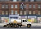 لعبة الشاحنات الضخمة