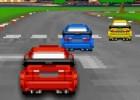 لعبة سباق سيارات داخل المدينة