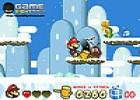 لعبة سوبر ماريو على الثلج