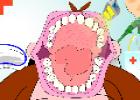 لعبة تنظيف اسنان القرد