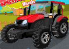 لعبة سيارة المزرعة ونقل الخضروات