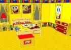 لعبة تنظيف غرفة سبونج بوب