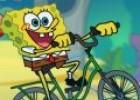 لعبة سبونج بوب يقود الدراجة