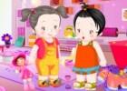 لعبة اطفال صغار بنات واولاد