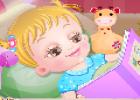 لعبة رعاية الطفل المريضة