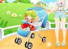لعبة ماما رعاية الاطفال