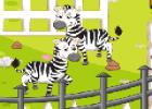 لعبة ترتيب حديقة الحيوان المفتوحة