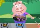 لعبة طبخ العجة الفلسطينية