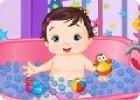 لعبة رعاية الطفل السعيد