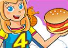 لعبة مطعم البرجر 4