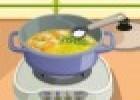 العاب طبخ حساء الخضار للبنات