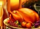 لعبة اكتشاف الاشكال المخفية في وليمة عيد الشكر