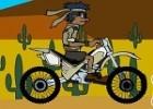 لعبة دراجة صحاري امريكا