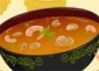 العاب طبخ شوربة القريدس مع البصل