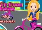 لعبة سباق البنات