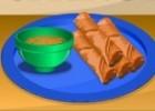 لعبة طبخ لفائف الخضار