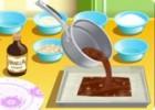 لعبة طبخ كريمة الشوكولاتة بالجبن