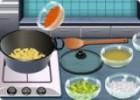 العاب طهي شوربة البطاطس مع الخضار