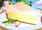 لعبة تزيين كيكة الليمون